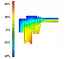 EHV-AT Thermo hőszigetelő burkolókeret