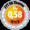 FAKRO EHV-AT Thermo hőszigetelő burkolókerettel