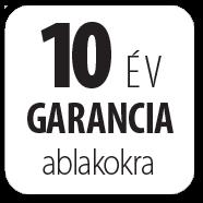 FAKRO - 10 év garancia ablakokra