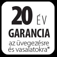 FAKRO - 20 év garancia az üvegezésre és a vasalatokra