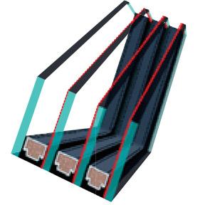FAKRO U8 as tetőtéri ablak üveg