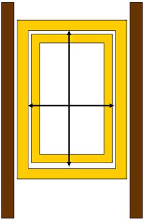 Mérje meg a tetőtéri ablak belső szélességét és hosszát
